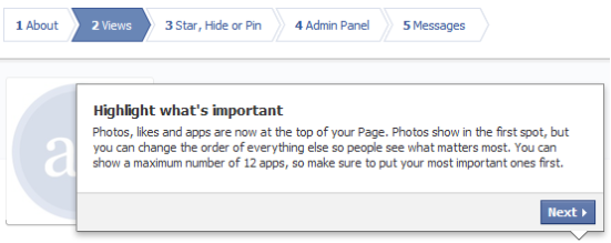 facebook time  for pages pin, star highlight content