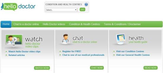 Hello Doctor social media