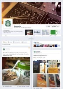 Starbucks Timeline Page